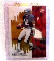 Jabar Gaffney RC 2002 Topps Pristine Gold Refractor #73/79 Rookie-Texans WR - $29.69