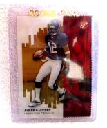 Jabar Gaffney RC 2002 Topps Pristine Gold Refractor #73/79 Rookie-Texans WR - $29.69