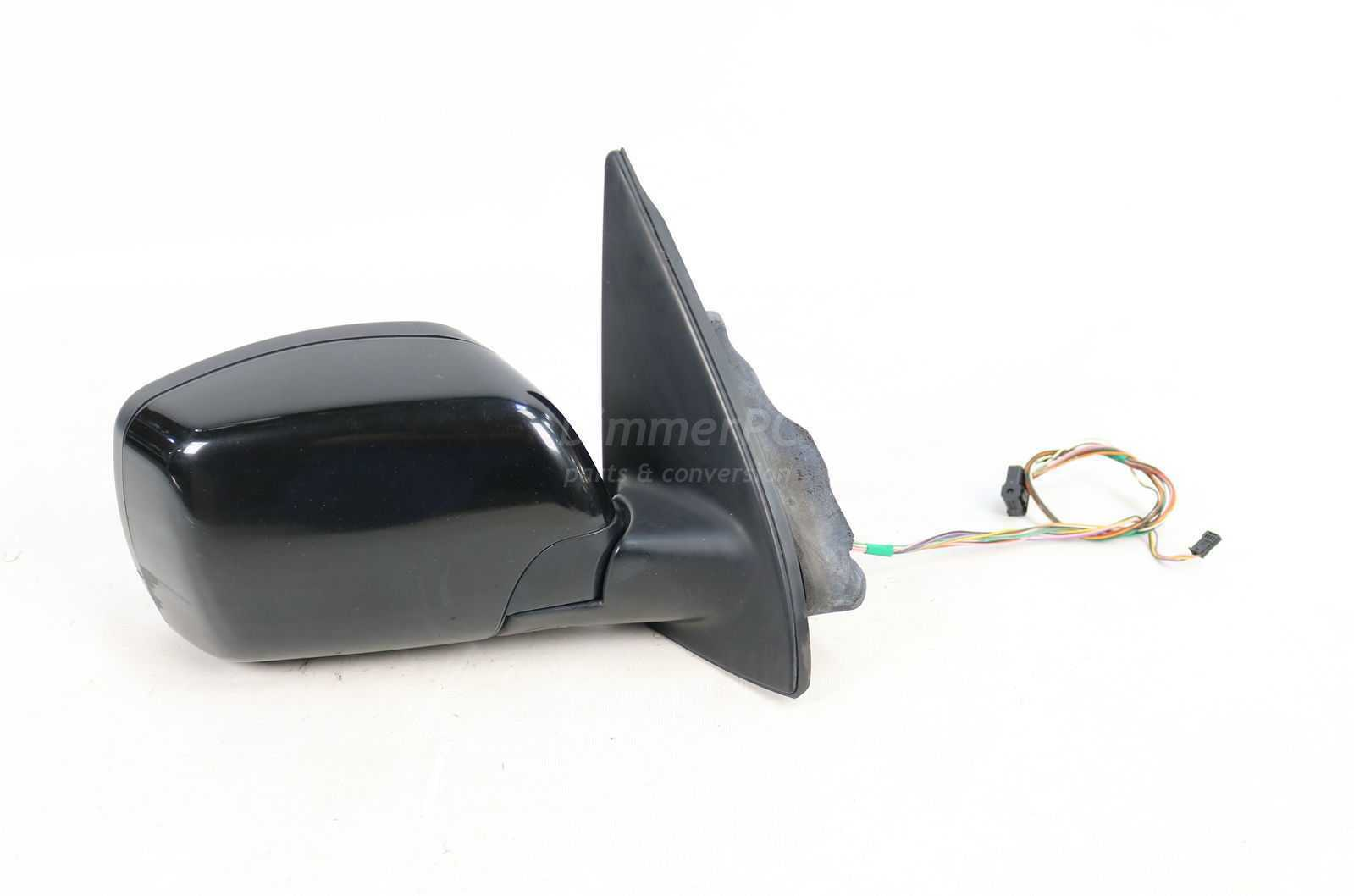 Primary image for BMW E53 X5 Black Right Power Door Mirror w Auto Dimming Glass 2000-2002 OEM