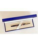 Vintage Waterman 18K 750 Gold Nib Burgundy Marble Fountain Pen made in F... - $81.41