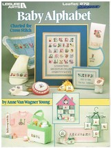 BABY ALPHABET - CROSS STITCH LEAFLET - $6.88