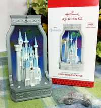 Hallmark Disney's Cinderella's Castle Magic ornament 2013 D23 Repaint - $149.75