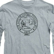 City of Pawnee Indiana 1817 t-shirt Parks & Recreation long sleeve tee NBC348 image 2