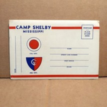 1940s Camp Shelby Mississippi Souvenir Photo Folder Army Military Nation... - $40.00