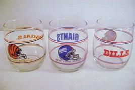 National Football League Bourbon Glasses - $15.00