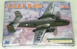Minicraft 1/144 USAF B-25J Plastic Model Kit, item 14653 parts sealed - $17.75