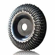 """Grinder Wheel Disc Wood Grinding Shaping Disk For Angle Grinders 4 in 5/8"""" - $21.86"""