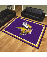 FANMATS NFL Minnesota Vikings 8'x10' Rug - Great For Man Caves, Game Roo... - $389.95
