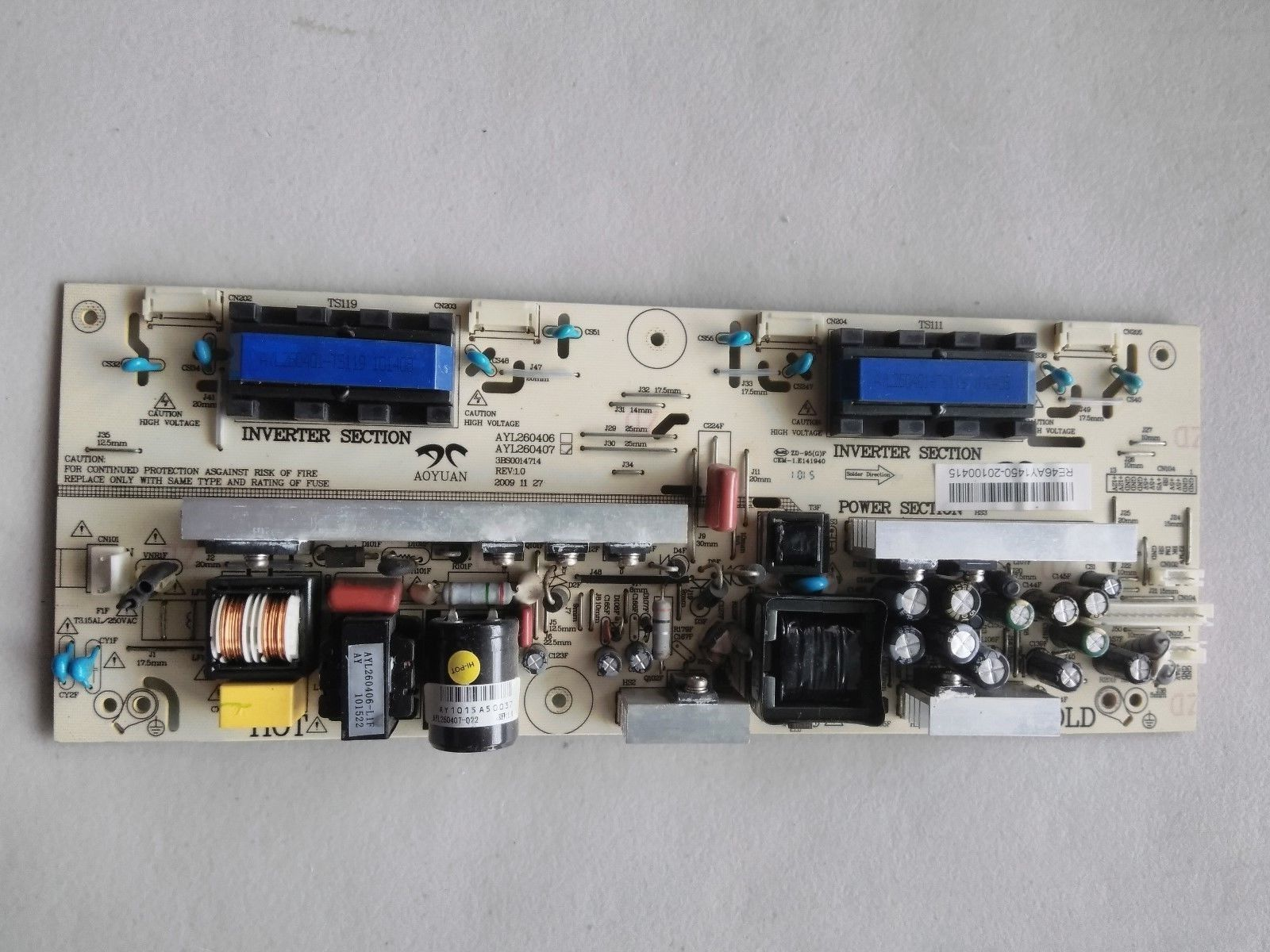Primary image for RCA 32LA30RQ Power Board AYL260407