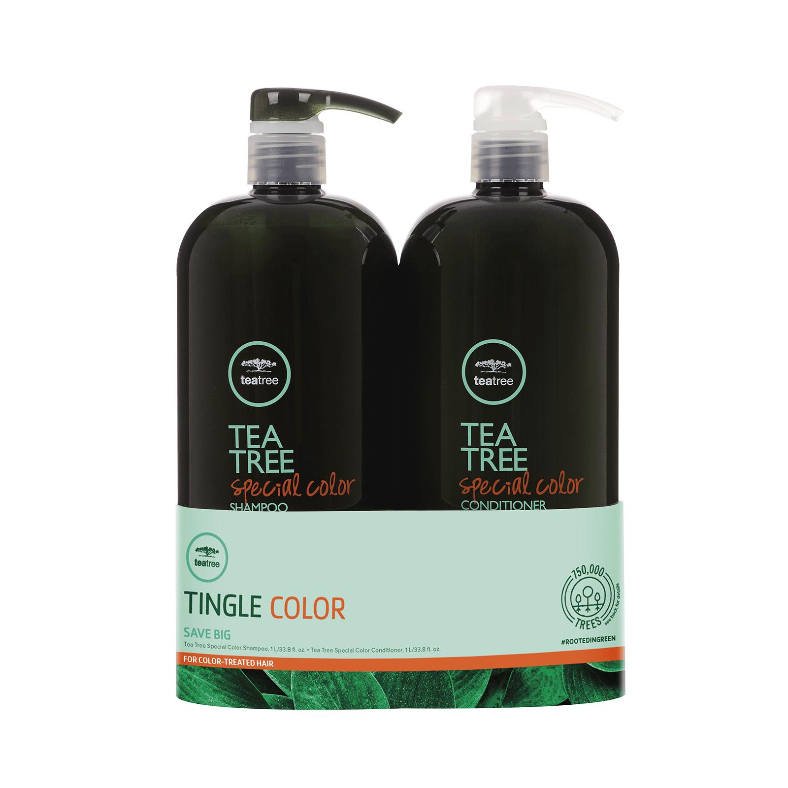 Paul Mitchell Tee Baum Spezial Farbe Shampoo, Haarspülung Liter Duo