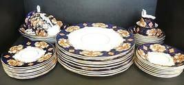 37 Pieces Royal Albert Heirloom Pattern - Six Place Settings Plus Servin... - $522.49
