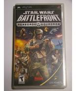 Sony PSP UMD Game - STAR WARS BATTLEFRONT RENEGADE SQUADRON (Complete) - $20.00