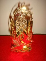 Danbury Mint Gold Plated 1990 Doves Of Peace Religious Ornament - $18.99