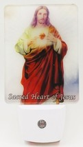 Devotional LED Night Light: Sacred Heart of Jesus