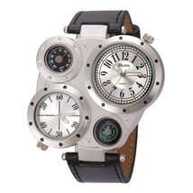 Oulm Men Watches Antique Male Quartz Watch Top Brand Luxury Sport Wristw... - $30.15