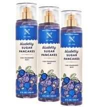 3-Pack Bath & Body Works BLUEBERRY SUGAR PANCAKES Fine Fragrance Mist Sp... - $37.99