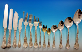 Meadow by Gorham Sterling Silver Flatware Set Service 180 Pieces In Fitt... - $11,600.00