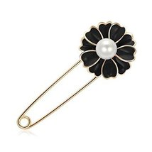 Women's Generic Fashion Scarf Buckle Brooch Silk Scarves Clip Scarf Chif... - $11.34