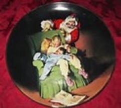 Sundblom Babbo Natale Serie 1990 da Collezione Piastra Porta Knowles Orig - $19.23