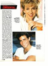 Debbie Gibson Alyssa Milano teen magazine pinup clipping Brian Bloom