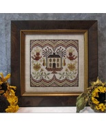 Crowned Owls cross stitch chart Kathy Barrick Designs  - $8.00