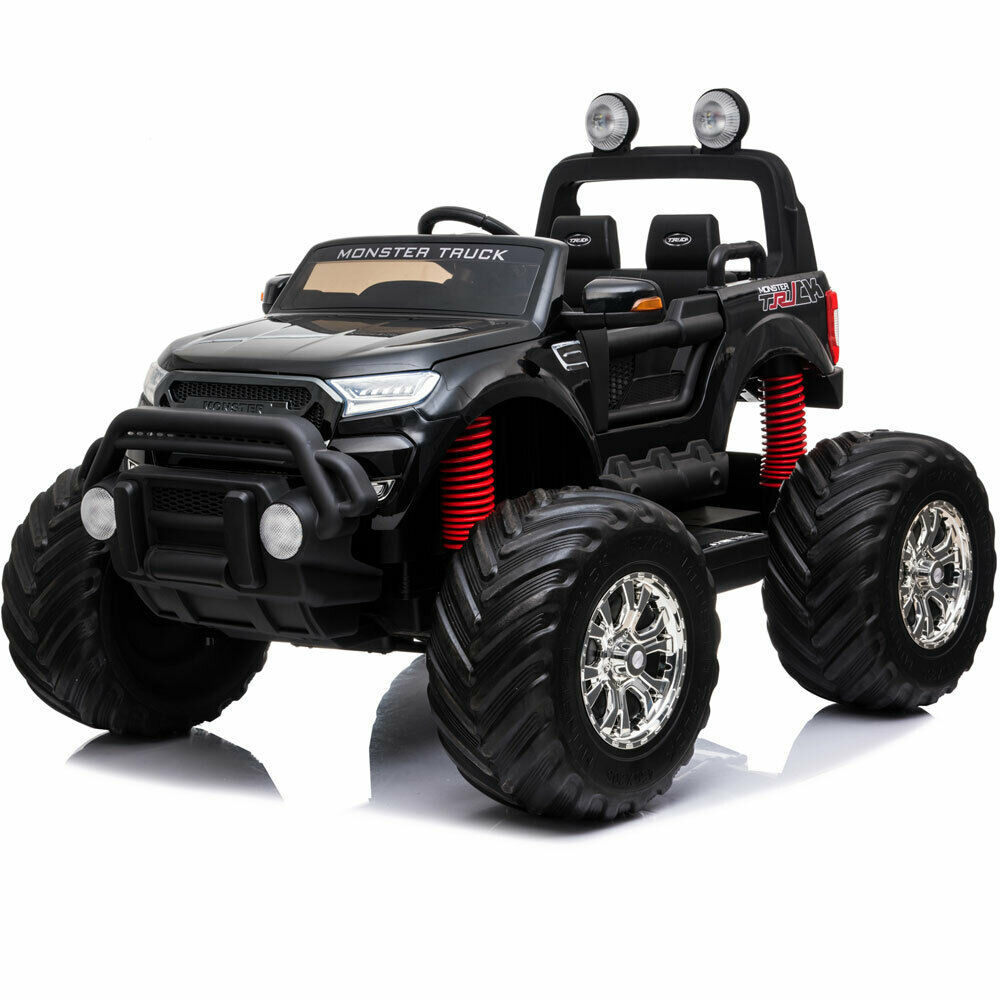 Ride On MotoTec Monster Truck 4x4 12v Parents Remote Control Kids 3 to 8 y.o.
