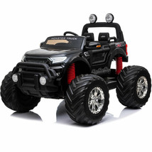 Ride On MotoTec Monster Truck 4x4 12v Parents Remote Control Kids 3 to 8 y.o. image 1