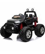 Ride On MotoTec Monster Truck 4x4 12v Parents Remote Control Kids 3 to 8... - $589.00
