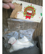 Glass Sheep Ornament A Christmas Place Howard Kaplan French Country Stor... - $18.00