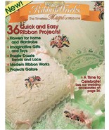 Back Issue of Ribbon Works Embroidery Craft Magazine - $6.99