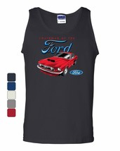 Chairman of the Ford Tank Top Mustang American Classic Muscle Car Sleeveless - $12.50+