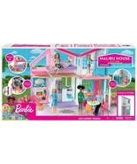 Barbie Malibu 2 Story 6 Room house Playset with over 25 Accessories NEW - $142.40