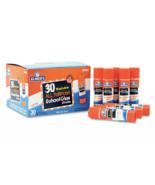 NEW Elmers Washable School Glue Sticks 30 Pack Non Toxic Acid Free - $15.10