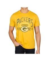 Originale Junk Food Verde Baia Packers Calcio 1921 Logo Sport Uomo T Shirt S-2XL - $30.43