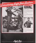1986 Harley Davidson Eagle Iron Parts & Accessory Accessories Brochure - $3.33
