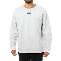FELPA UOMO ADIDAS VOCAL CREW ED7229  MAN SWEATSHIRT LONG SLEEVE Grigio - $55.51