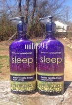 4 x Bath Body Works Honey Vanilla Dream Lotion Aromatherapy Sleep essent... - $99.99