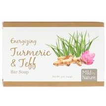 Mild By Nature, Energizing Bar Soap, Turmeric & Teff, 5 oz (141 g) - $6.00