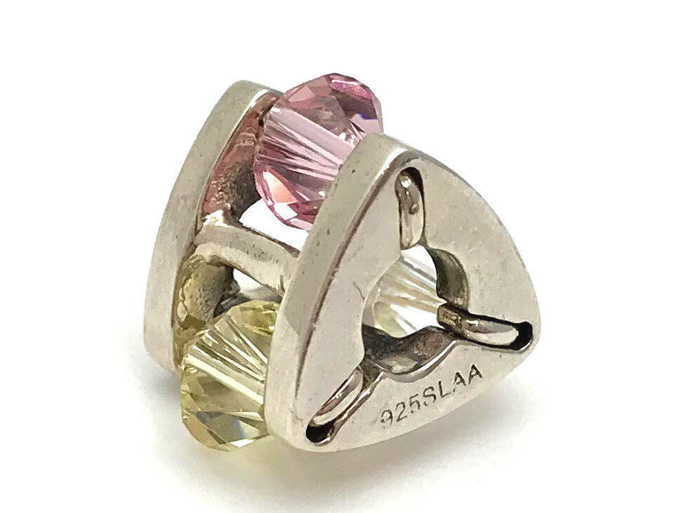 Authentic Trollbeads Sterling Silver Summer Jewel, Big Bead Charm 61712, New - $68.39