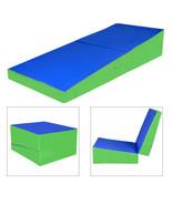"48""x24""x14"" Folding Incline Gymnastics Mat Ramp Cheese Wedge Tumbling Ma... - $119.99"