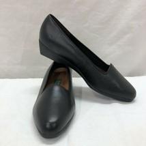 Vintage Easy Spirit Women's Comfort Shoes Size 7.5B Cass Black Leather - $23.15