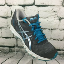 Asics Rush 33 Women's Size 8 1/2 Running Shoes Gray Grey Blue Trainers S... - $21.37