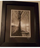 "Beautiful, Signed amd matted B&W Photograph call Foggy Morning on NYC 8""... - $29.99"