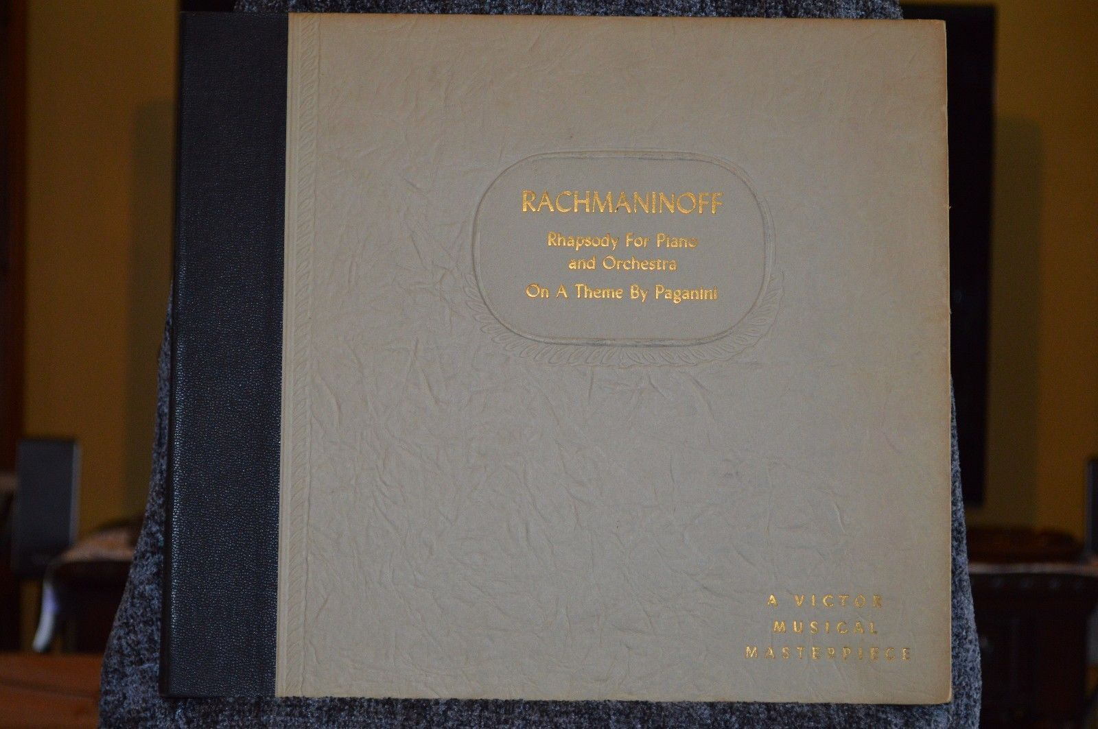Rhapsody for Piano and Orchestra on a Theme By Paganini, vinyl