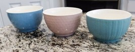 Gourmet Basics by Mikasa Jardine Pastel Bowls (Set of 3) - $34.52