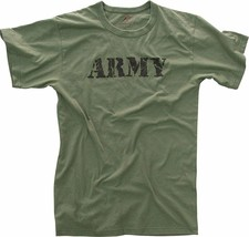 Olive Drab Distressed Army Logo T-Shirt - $13.99+