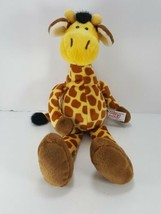 "Nici Giraffe Soft Toy Plush Stuffed Zoo Animal Cuddly Toy 13"" Enesco Brown - $12.86"