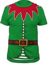 T-Shirts Size S-2XL New Mens Elf Big Print Subway T-Shirt Christmas - $24.58+
