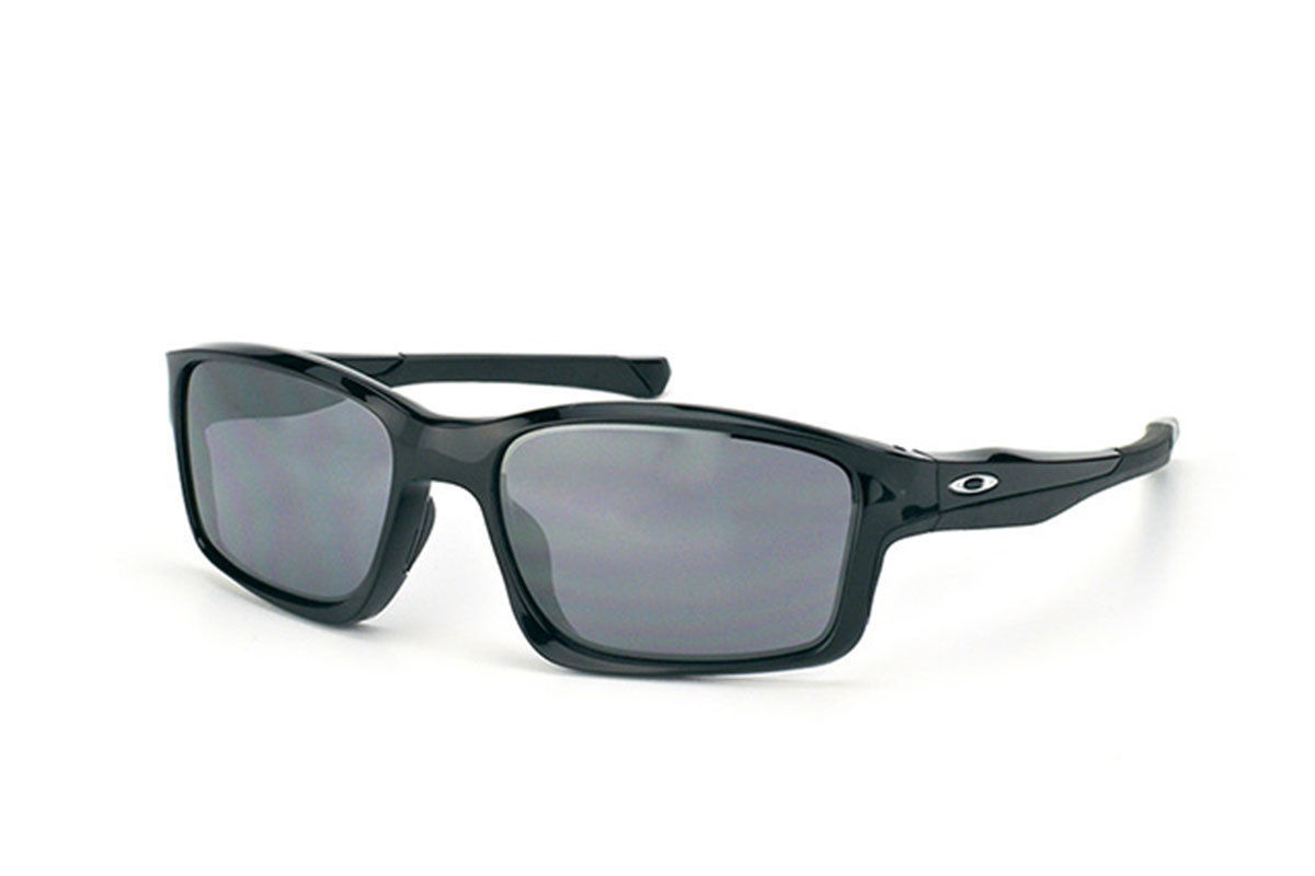 New Oakley Chainlink Polished Black w/black Iridium OO9247-01
