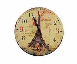 PANDA SUPERSTORE Retro Nostalgia Wooden Wall Clock Vintage Look Home Decoration( - $65.56